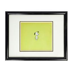 Original Snoopy Animation Cel.