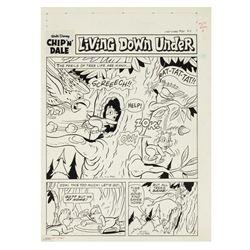 """Chip n' Dale"" Original Comic Page."