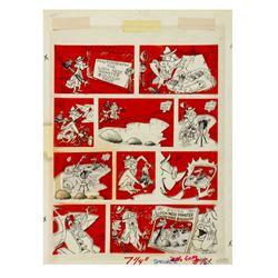 """Antonio Prohias """"MAD Magazine"""" Original Comic Art."""
