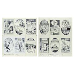 """Group of (12) Al Jaffee """"MAD Magazine"""" Illustrations."""