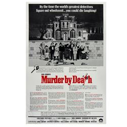 """""""Murder by Death"""" One Sheet Poster."""
