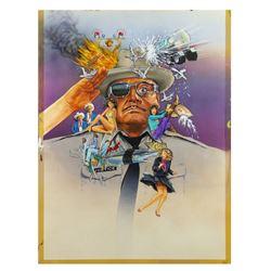 """Smokey and the Bandit Part 3"" Original Poster Artwork."