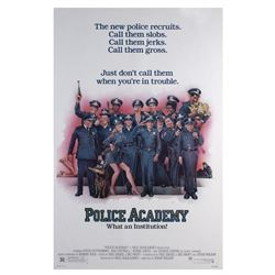 """""""Police Academy"""" One Sheet Poster."""