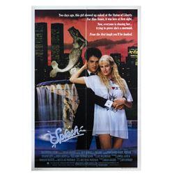 """Splash"" Poster Signed by John Candy & Eugene Levy."