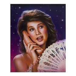 """Spaceballs"" Princess Vespa Original Artwork."