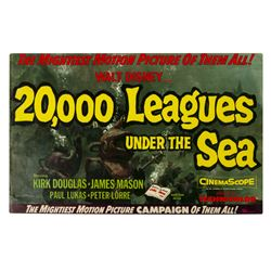 """""""20,000 Leagues Under the Sea"""" Exhibitor Campaign Book."""