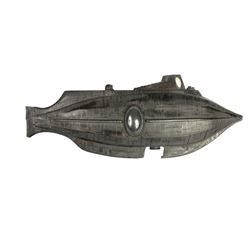 """20,000 Leagues"" Anamorphic Nautilus Model."