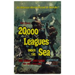 """20,000 Leagues Under the Sea"" Exhibitor Campaign Book."