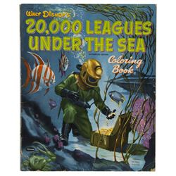 """20,000 Leagues Under the Sea"" Coloring Book."
