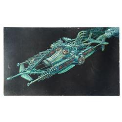 """""""Nautilus II"""" Harper Goff Original Concept Painting."""