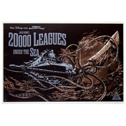 """20,000 Leagues Under the Sea"" L.E. Mondo Poster."