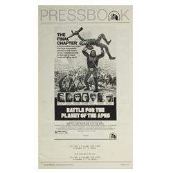 """""""Battle for the Planet of the Apes"""" Press Book."""