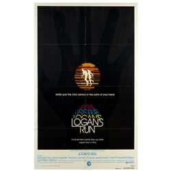 """Logan's Run"" Advance One Sheet Poster."