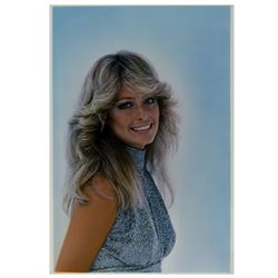 Farrah Fawcett Enhanced Photo Artwork.