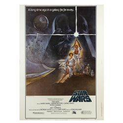 """""""Star Wars"""" 40""""x30"""" Style-A Poster."""