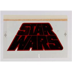 """Star Wars"" Title Strip-In Art."