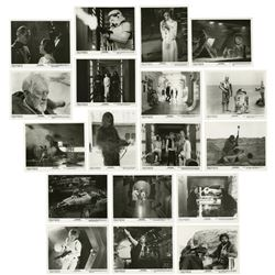 """Collection of (18) """"Star Wars"""" Black & White Photos."""