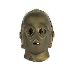 "Don Post ""Star Wars"" C3PO Mask."