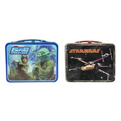 "Pair of ""Star Wars"" Themed Lunch Boxes."