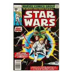 "Stan Lee Signed ""Star Wars"" Vol 1 No 1."