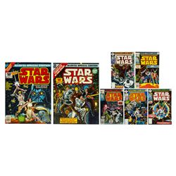 "Collection of (7) ""Star Wars"" Comics."
