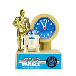 """Star Wars"" Talking Alarm Clock."