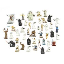 "Set of (44) Hand-Painted ""Star Wars"" Figures."