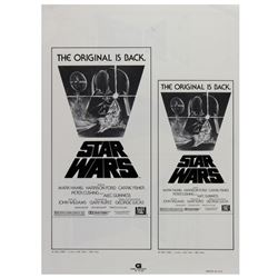 """Star Wars"" Re-Release Ad Campaign Book."
