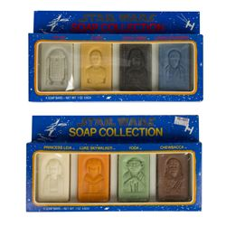 "Pair of ""Star Wars"" Boxed Soap Collections."