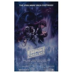 """The Empire Strikes Back"" Style-A  Sample Poster."