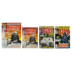 "Set of (4) ""The Empire Strikes Back"" Comics."
