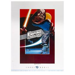 """""""The Empire Strikes Back"""" Larry Noble Poster."""