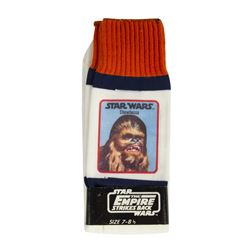 """The Empire Strikes Back"" Chewbacca Socks."