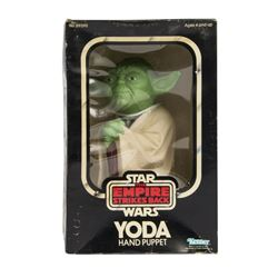 """The Empire Strikes Back"" Yoda Hand Puppet."