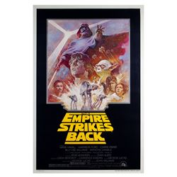 """The Empire Strikes Back"" Re-Release Poster."