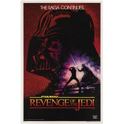 """Revenge of the Jedi"" Walt Disney World Prop Poster."