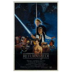 "Star Wars ""Return of the Jedi"" One Sheet Poster."