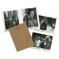 "Brown Bag Set ""Return of the Jedi"" Lobby Cards."