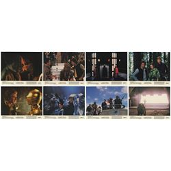 """Set of (8) """"Return of the Jedi"""" Lobby Cards."""