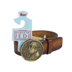 """Return of the Jedi"" Yoda Brass Belt."