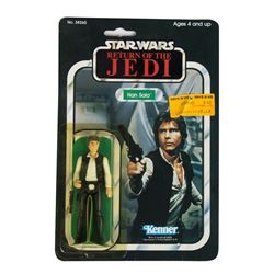"Kenner ""Return of the Jedi"" Han Solo Figure."