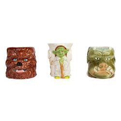 "Set of (3) ""Return of the Jedi"" Ceramic Mugs."