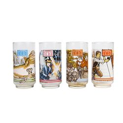 "Set of (4) ""Return of the Jedi"" Drinking Glasses."