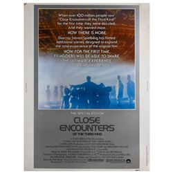 """Close Encounters of the Third Kind"" Poster."