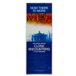 """Close Encounters"" Re-Release Insert Poster."