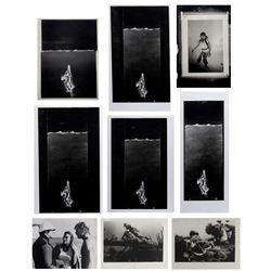 "Set of (9) ""The Deep"" Development Art & Prints."