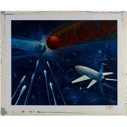 """When Worlds Collide"" & ""War of the Worlds"" Poster Art."