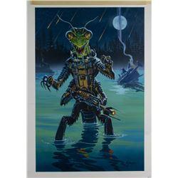"""Invasion"" Original Art by Dan Goozee."
