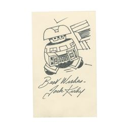 """""""The Black Hole"""" Signed Drawing by Jack Kirby."""