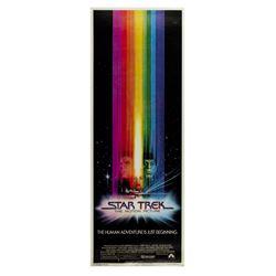 """""""Star Trek: The Motion Picture"""" Insert Poster."""
